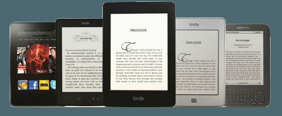 Različni modeli eBralnikov Kindle
