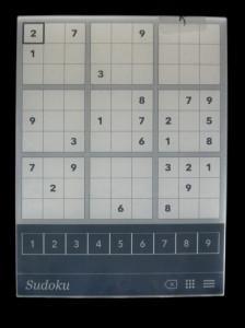 Iger Šah in Sudoku sicer Kobo uradno ne vzdržuje a so kljub temu dokaj dobrodošle.