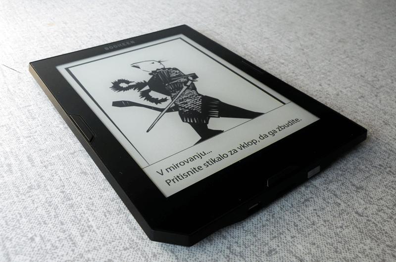 Ohišje bralnika je zelo tanko 8 mm in je eno izmed tanjših na trgu, prav tako je bralnik tudi zelo lahek, saj tehta 190g, kar je skoraj 20 g več kakor Amazonov Kindle Paperwhite.