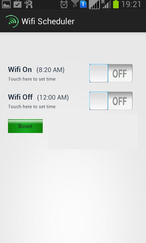 Wifi Scheduler: brezplačna aplikacija, ki ob določenem času (npr. ponoči) ugasne Wi-Fi.