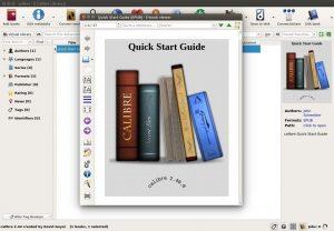 Program za branje e-knjig Calibre