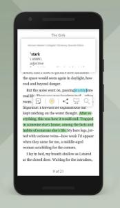 Aplikacija za branje Nook