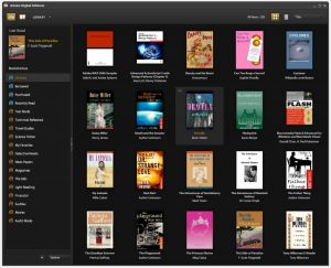 Program za branje e-knjig Adobe Digital Editions