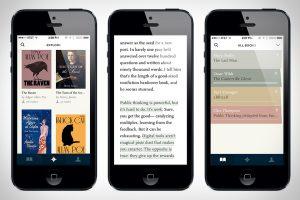 iOS napredna aplikacija Readmill